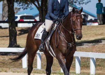 Clare Mansmanns on horse